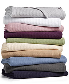 Lauren Ralph Clic 100 Cotton Blankets