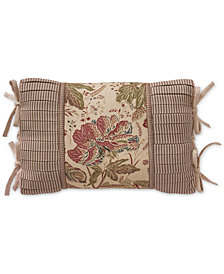 "Croscill Camille 19"" x 13"" Boudoir Decorative Pillow"