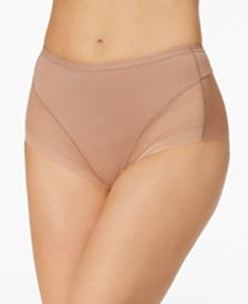 Leonisa Women's  Light Control Mesh-Panel Brief