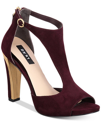 Dkny Colby T Strap Sandals Created For Macy S Amp Reviews
