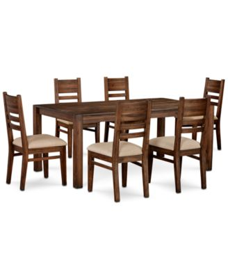"Avondale Large Dining, 7-Pc. Set (72"" Dining Table & 6 Side Chairs), Created for Macy's"