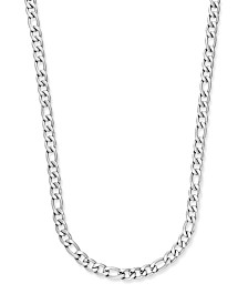 Sutton by Rhona Sutton Men's Stainless Steel Chain Necklace