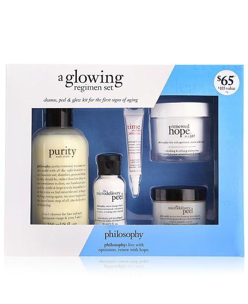 philosophy 5-Pc  A Glowing Regimen Loyalty Set & Reviews - Beauty