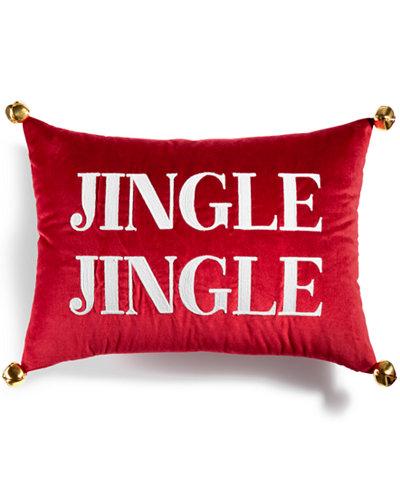 CLOSEOUT! Martha Stewart Collection Jingle Velvet 14