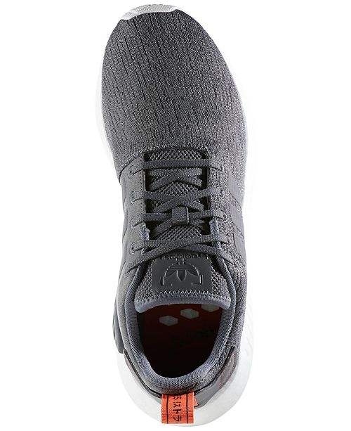 ca3a64a86 adidas Men s NMD R2 Casual Sneakers from Finish Line   Reviews ...