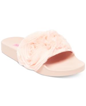 Betsey Johnson Cutie Slide Sandals Women