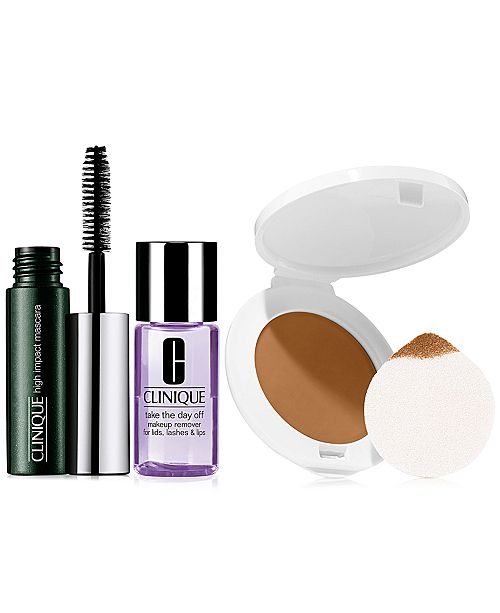 Clinique Receive a FREE 3-pc Makeup gift with $65 Clinique Purchase!