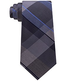 Men's Track Plaid Silk Tie