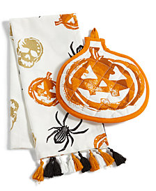 Martha Stewart Collection 2-Pc. Pumpkin Kitchen Set, Created for Macy's