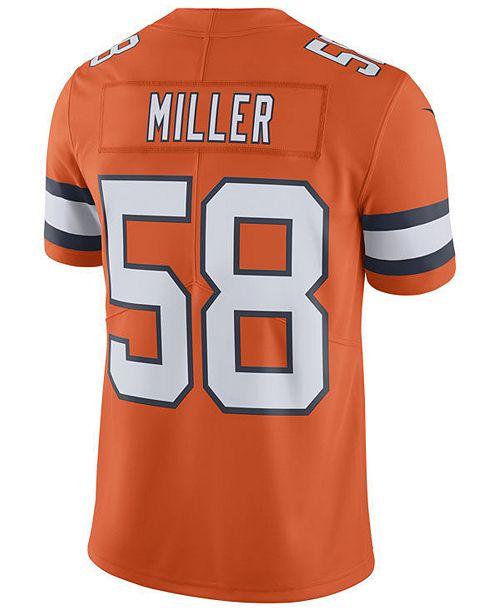 Nike Men's Von Miller Denver Broncos Limited Color Rush Jersey