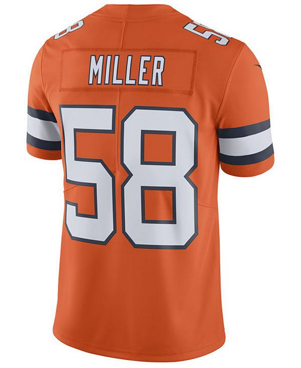Nike Men's Von Miller Denver Broncos Limited Color Rush Jersey