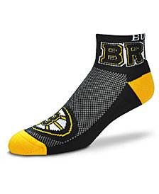 For Bare Feet Boston Bruins The Cuff Ankle Socks