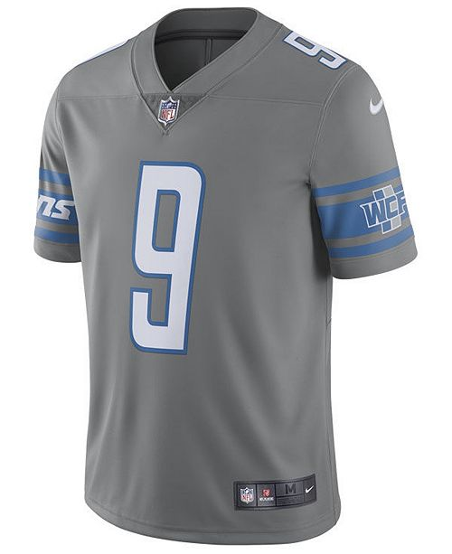 the best attitude 14446 d8a73 Men's Matthew Stafford Detroit Lions Limited Color Rush Jersey