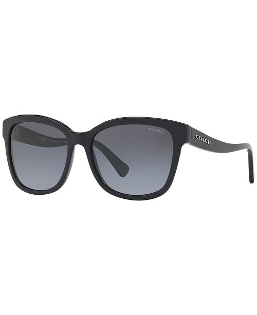 COACH Polarized Polarized Sunglasses , HC8219