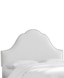 Jenny Nail Button Headboard - Twin, Quick Ship