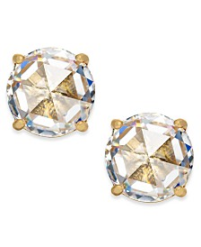 Kate Spade New York  14k Gold-Plated Crystal Stud Earrings