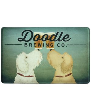"""Bacova Doodle Brewing 22"""" x 35"""" Kitchen Rug Bedding 4808822"""