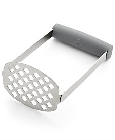 Martha Stewart Collection Flat Potato Masher, Created for Macy's