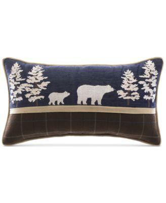 """Clairmont Bear 20"""" x 11"""" Boudoir Decorative Pillow"""