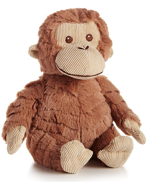 """First Impressions Baby Boys & Girls 8"""" Plush Monkey, Created for Macy's"""