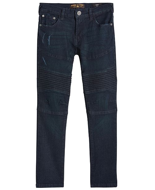 Ring of Fire Stanley Denim Slim Jeans, Big Boys, Created for Macy's