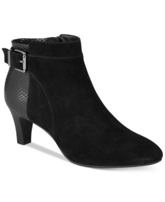Image of Alfani Women's Step 'N Flex Viollet Ankle Booties, Created for Macy's
