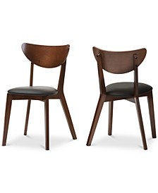 Sumner Faux Leather and Dining Chair (Set Of 2)