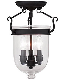 Livex Jefferson Semi -Flush Light