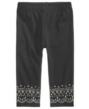 First Impressions GeoPrintBorder Leggings Baby Girls (024 months) Created for Macys