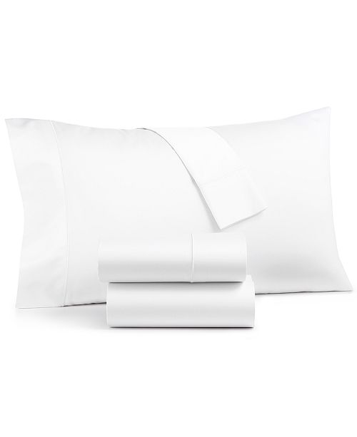 Sleep Luxe 800 Thread Count, 4-PC King Extra Deep Pocket Sheet Set, 100%  Cotton, Created for Macy's