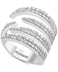 Diamond Claw Statement Ring (1-1/3 ct. t.w.) in 14k White Gold