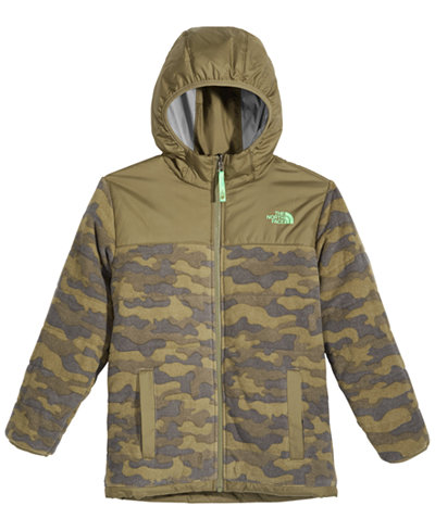 The North Face True or False Reversible Fleece Jacket, Little Boys ...