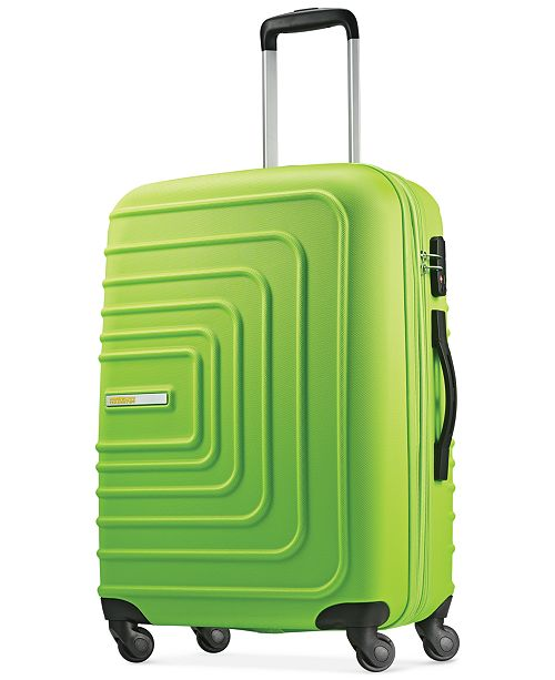 "American Tourister CLOSEOUT! Xpressions 24"" Expandable Hardside Spinner Suitcase, Created for Macy's"