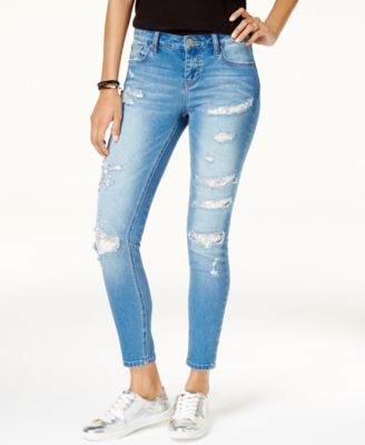 Ripped Juniors Jeans - Macy's