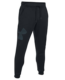 Under Armour Men's Exploded Logo Rival Joggers