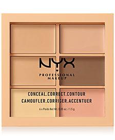 NYX Professional Makeup Conceal Correct Contour Palette Light