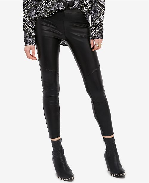 25205cbd129f9 Free People Faux-Leather Leggings & Reviews - Pants & Capris ...