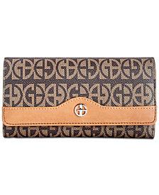 Giani Bernini Block Signature Receipt Wallet, Created for Macy's