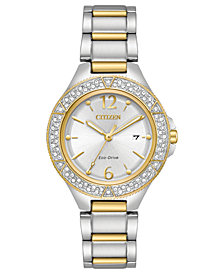 Citizen Eco-Drive Women's Two-Tone Stainless Steel Bracelet Watch 31mm