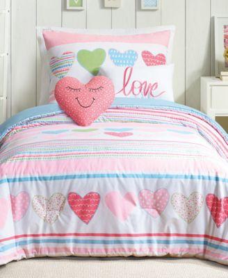 Daphne Reversible 4-Pc. Twin Comforter Set
