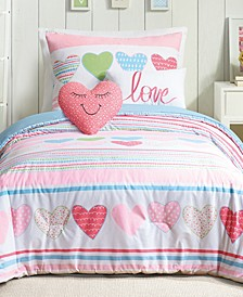 Daphne Reversible 4-Pc. Twin Comforter Set