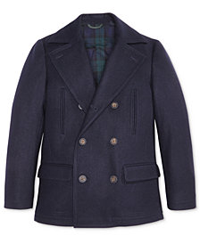 Lauren Ralph Lauren Pea Coat, Big Boys