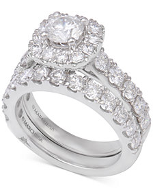 Marchesa Diamond Bridal Set (3 ct. t.w.) in 14k White Gold