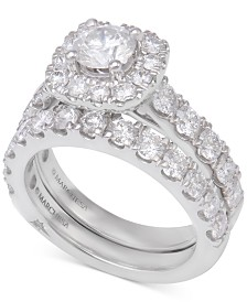 Marchesa Diamond Bridal Set (3 ct. t.w.) in 18k White Gold
