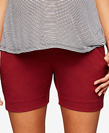 A Pea In The Pod Maternity Twill Shorts