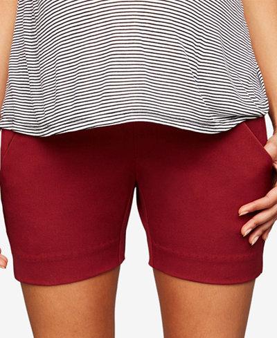 A Pea In The Pod Maternity Twill Shorts
