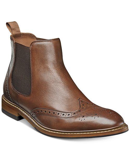 d7ec83f9b18a Florsheim Men s Streets Wingtip Chelsea Gore Boots   Reviews - All ...