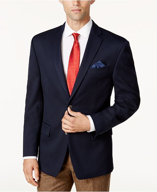 Michael Kors Michael Kors Men's Classic-Fit Stretch Performance Blazer