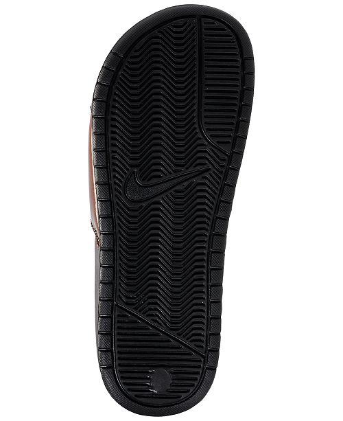 740b85289 Nike Women s Benassi JDI Print Slide Sandals from Finish Line ...