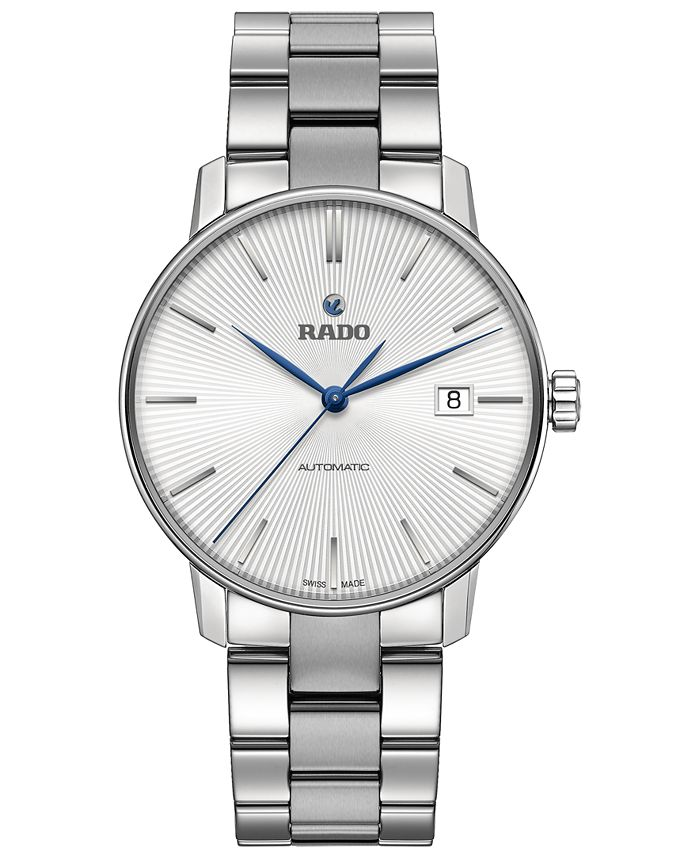 Rado - Swiss Automatic Coupole Classic Stainless Steel Bracelet Watch 38mm